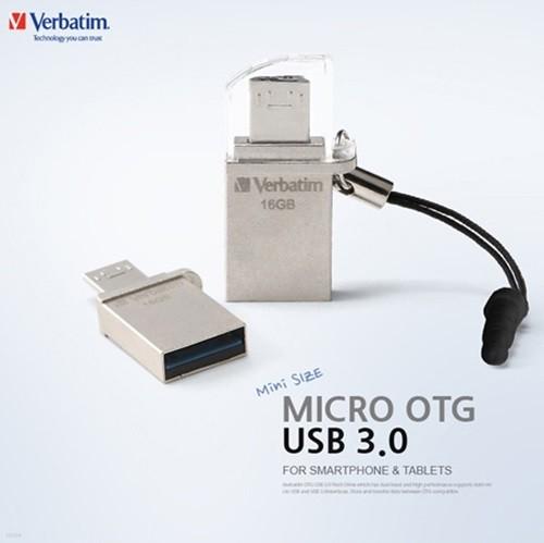 무료배송 버바팀 MICRO OTG USB 3.0 16GB/USB메...