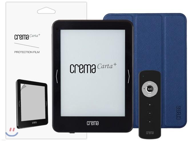 예스24 카르타 플러스+스탠딩 케이스(블루)+액정 보호 필름+전용 리모콘