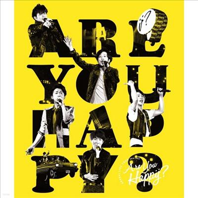 Arashi (아라시) - Live Tour 2016-2017/Are You Happy? (2Blu-ray+1DVD)(Blu-ray)(2017)