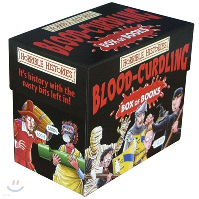 Horrible Histories : Blood-Curdling 20종 Box Set
