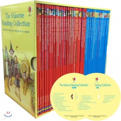 [어스본 리딩 3단계] The Usborne Reading Collection 40권 세트 (Book & CD)