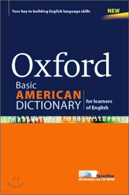 Oxford Basic American Dictionary for learners of English with CD-Rom