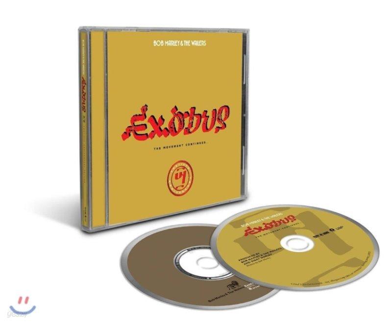 Bob Marley & The Wailers (밥 말리 & 더 웨일러스) - Exodus: 40 The Movement Continues [발매 40주년 기념 2 CD 에디션]