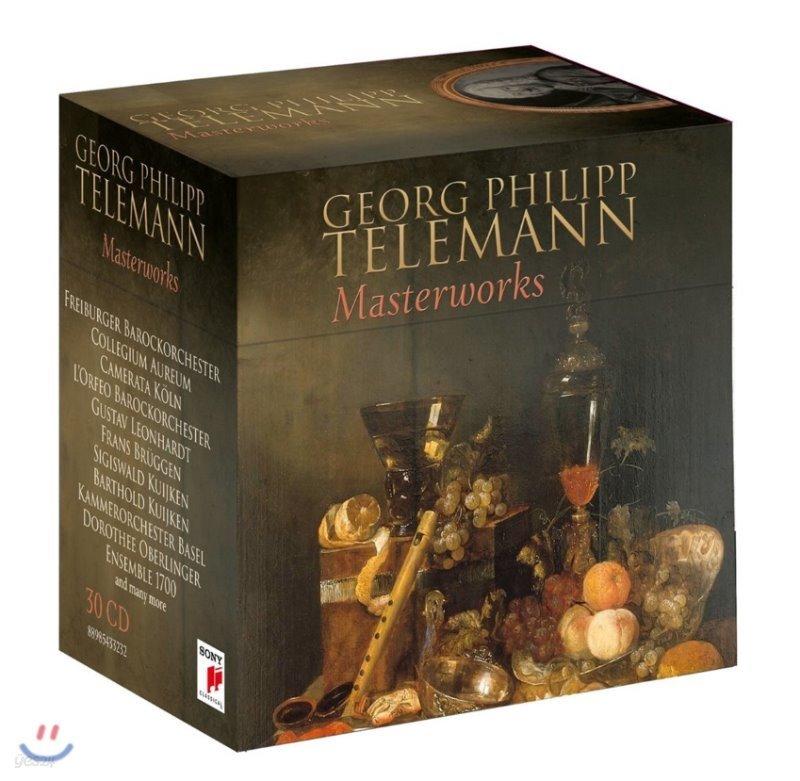 텔레만 마스터웍스 - 사후 250주년 30CD 박스세트 (Georg Philipp Telemann: Masterworks)