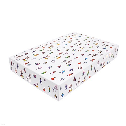 paper box-cap(village)