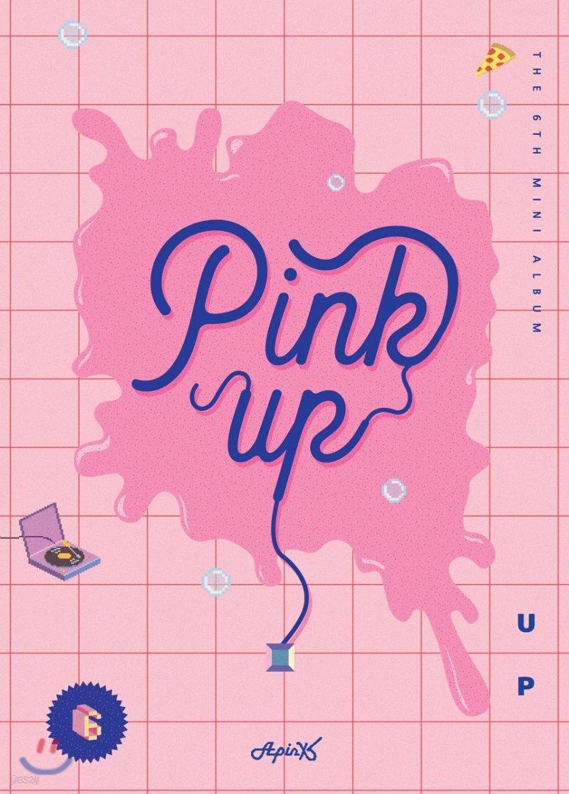 에이핑크 (Apink) - 미니앨범 6집 : Pink Up [A ver.]