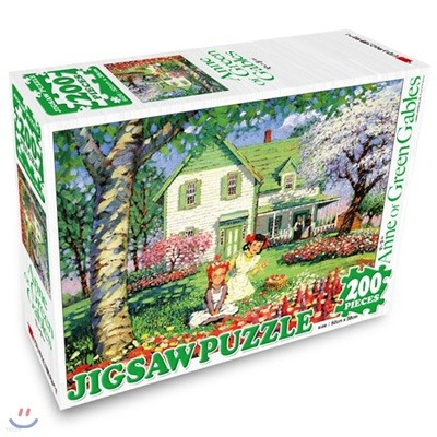 빨강머리앤 직소퍼즐 200P 꽃나들이