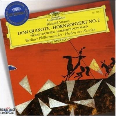 Herbert von Karajan 슈트라우스 : 돈 키호테ㆍ호른 협주곡 (R.Strauss : Don QuixoteㆍHorn Concerto No.2) 카라얀