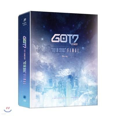 """갓세븐 (GOT7) - GOT7 1st Concert """"Fly In Seoul"""" Final Blu-ray"""