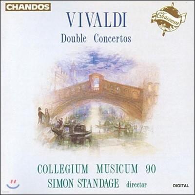 Collegium Musicum 90 비발디: 이중 협주곡집 - 콜레기움 무지쿰 90, 사이먼 스탠데이지 (Vivaldi: Double Concertos)