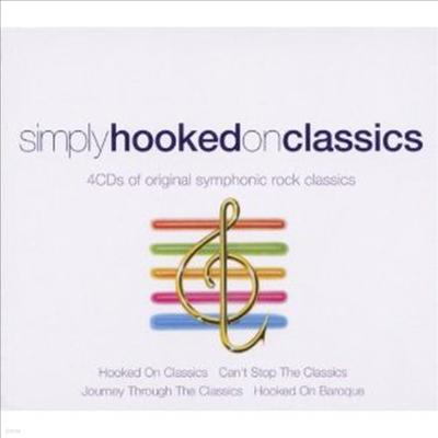 훅드 온 클래식 (Simply Hooked on Classics - Original Symphonic Rock Classics) (4CD Boxset) - Louis Clark