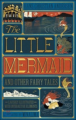 The Little Mermaid and Other Fairy Tales : 인어공주 일러스트 플랩북