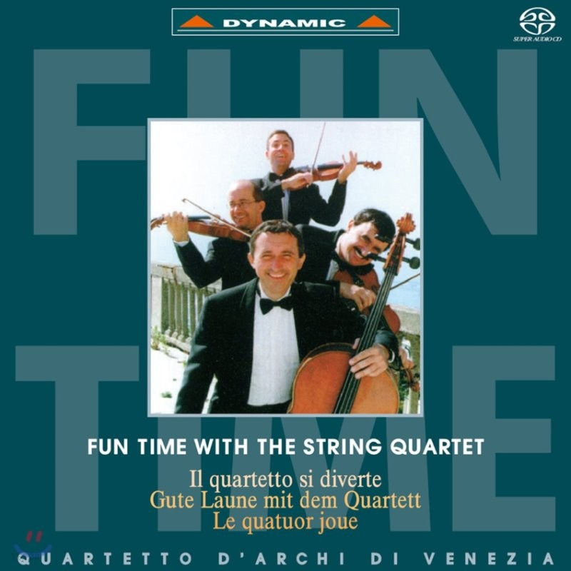 Quartetto d'Archi di Venezia 현악 사중주와 함께 하는 즐거운 순간 - 베네치아 현악사중주단 (Fun Time with the String Quartet)