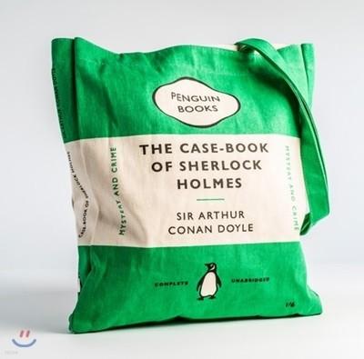 Penguin Tote Bag : The Casebook of Sherlock Homes (Green) (포켓 미포함)