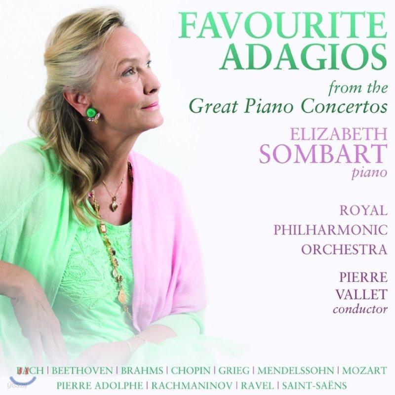 Elizabeth Sombart 피아노 협주곡의 유명 아다지오 악장 모음집 - 엘리자베트 송바르, 로열 필하모닉, 피에르 발레 (Favourite Adagios From The Great Piano Concertos - J.S. Bach / Beethoven / Chopin)