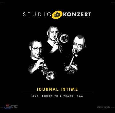 Journal Intime - Studio Konzert 주르날 앵팀 - 스튜디오 콘서트 [Limited Edition LP]