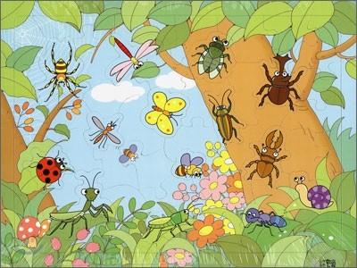 숲속 벌레들