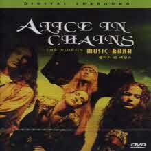 [DVD] Alice In Chains - Music Bank-the Videos (미개봉)