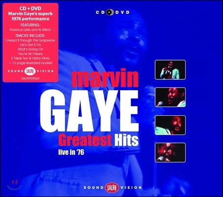 Marvin Gaye (마빈 게이) - Greatest Hits Live In '76 (1976년 암스테르담 라이브)