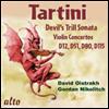 타르티니: 4개의 바이올린 협주곡 & 악마의 트릴 (Tartini: Violin Concertos D.12, 45, 51, 117 & Sonata g-moll 'Devil's Trill') - David Oistrakh