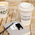 cowon �޴�� �̴Ͻ���Ŀ coffee speaker Ŀ�ǽ���Ŀ ���ǵ� ���� take out �ϼ���