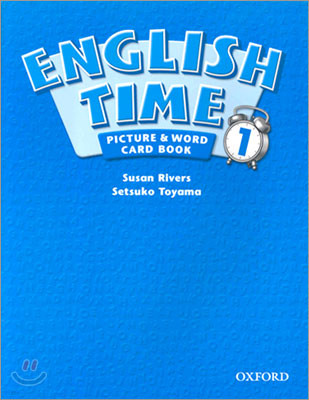 English Time 1 : Picture and Word Card Book