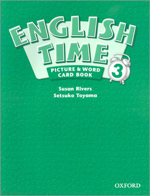 English Time 3 : Picture and Word Card Book