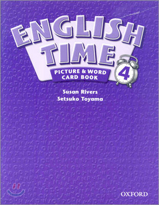 English Time 4 : Picture and Word Card Book