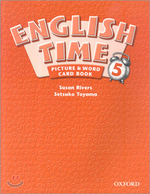 English Time 5 : Picture and Word Card Book