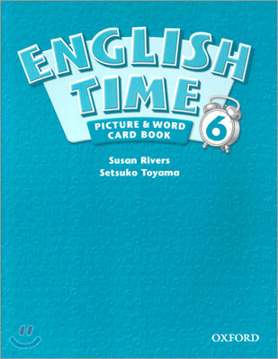 English Time 6 : Picture and Word Card Book