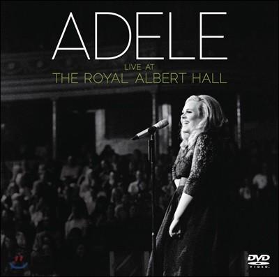 Adele - Live At The Royal Albert Hall 아델 - 2011년 런던 로열 앨버트 홀 라이브 앨범 [CD+DVD]