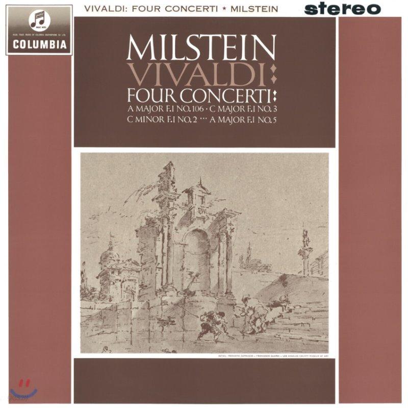 Nathan Milstein 비발디: 4개의 협주곡 (Vivaldi : Four Concerti) 나단 밀스타인 [LP]