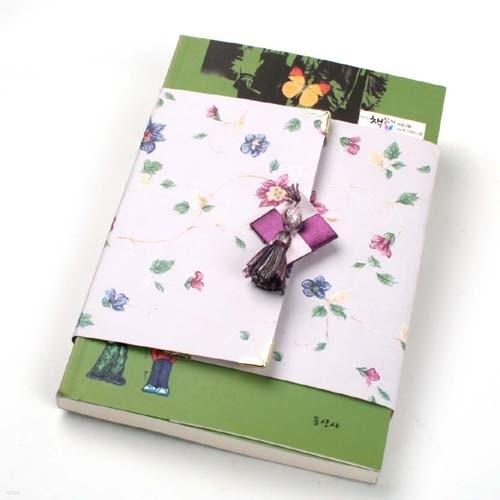 책 선물포장 눈꽃