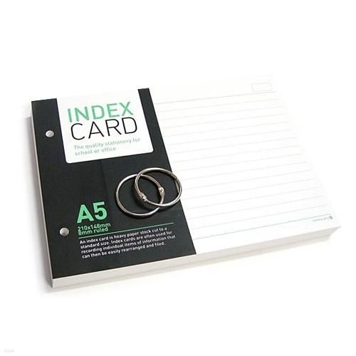 [알앤비]모닝글로리 정보카드 A5/index card A5/단어장/암기장