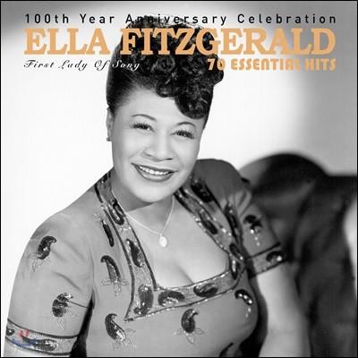 Ella Fitzgerald - 70 Essential Hits: 100th Year Anniversary Celebration 엘라 피츠제랄드 탄생 100주년 기념 베스트 리마스터링