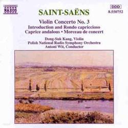 강동석 - 생상스: 바이올린 협주곡 3번 (Saint-Saens: Violin Concerto No.3)