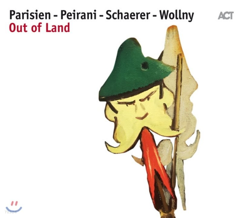 Emile Parisien/ Vincent Peirani/ Andreas Schaerer/ Michael Wollny (에밀 파리지엥, 뱅상 페이라니, 안드레아스 쉐러, 미카엘 울리) - Out Of Land