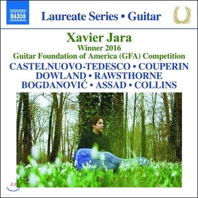 Xavier Jara 제이비어 제라 기타 연주집 - 2016년 GFA 국제 기타 콩쿠르 우승 기념 음반 (Xavier Jara Guitar Recital - Winner Guitar Foundation of America Competition)