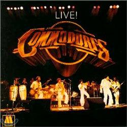 Commodores - Live!