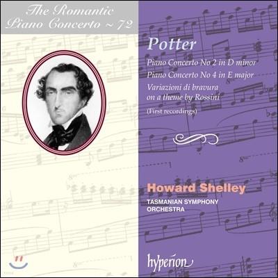 낭만주의 피아노 협주곡 72집 - 치프리아니 포터 (The Romantic Piano Concerto Vol.72 - Cipriani Potter) Howard Shelley 하워드 쉘리