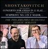 Mstislav Rostropovich / Eugene Ormandy 쇼스타코비치: 첼로 협주곡, 교향곡 1번 - 므스티슬라브 로스트로포비치, 필라델피아 오케스트라, 유진 오만디 (Shostakovich: Cello Concerto, Symphony) [LP]