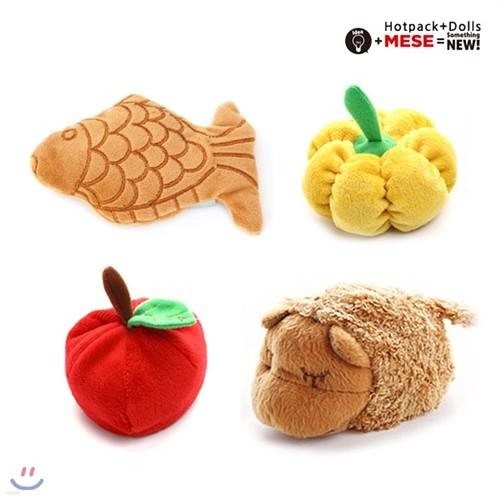 핫팩인형_미니 손난로 시리즈 모음/붕어빵 과일 도넛 양 펭귄