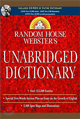 Random House Webster's Unabridged Dictionary with CD