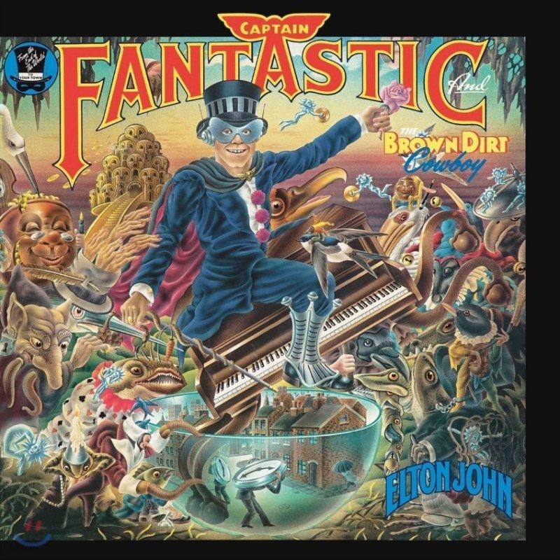 Elton John (엘튼 존) - Captain Fantastic & The Brown Dirt Cowboy [LP]