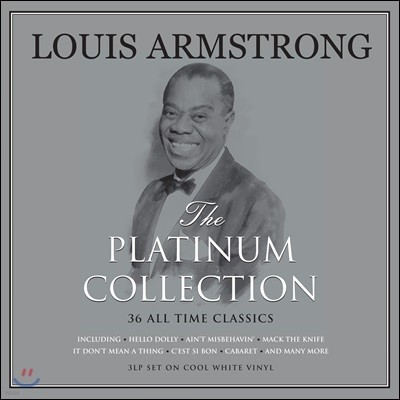 Louis Armstrong (루이 암스트롱) - The Platinum Collection [화이트 컬러 3LP]
