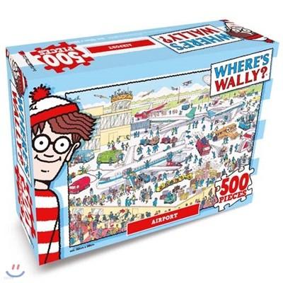 월리를 찾아서 직소퍼즐 500P 어수선한 공항