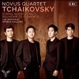 Novus String Quartet 차이코프스키: 현악 사중주 1번, 육중주 '플로렌스의 추억'