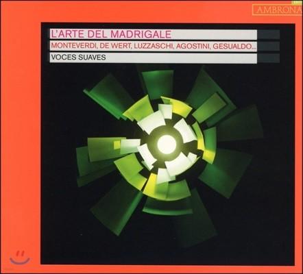 Voces Suaves 마드리갈의 예술 - 몬테베르디 / 데 베르트 / 루차스키 / 아고스티니 / 제수알도 외 (L'Arte del Madrigale - Monteverdi / De Wert / Luzzaschi / Agostini / Gesualdo)