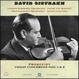David Oistrakh 프로코피에프: 바이올린 협주곡 1, 2번 - 다비드 오이스트라흐 (Prokofiev: Violin Concertos) [LP]