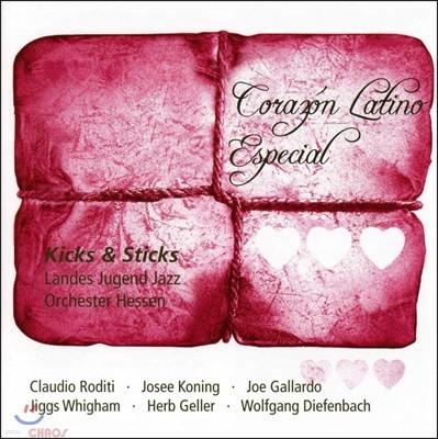 Landes Jugend Jazz Orchester Hessen (헤센 청소년 재즈 오케스트라) - Corazon Latino Especial: Kicks & Sticks